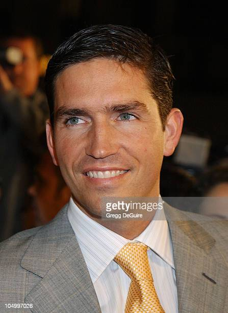 Jim Caviezel during 'High Crimes' Premiere at Mann Village Theatre in Westwood California United States