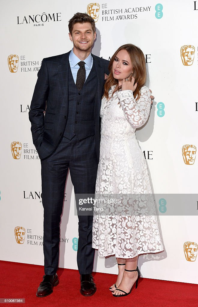 Jim Chapman and <a gi-track='captionPersonalityLinkClicked' href=/galleries/search?phrase=Tanya+Burr&family=editorial&specificpeople=9983702 ng-click='$event.stopPropagation()'>Tanya Burr</a> attend the Lancome BAFTA nominees party at Kensington Palace on February 13, 2016 in London, England.