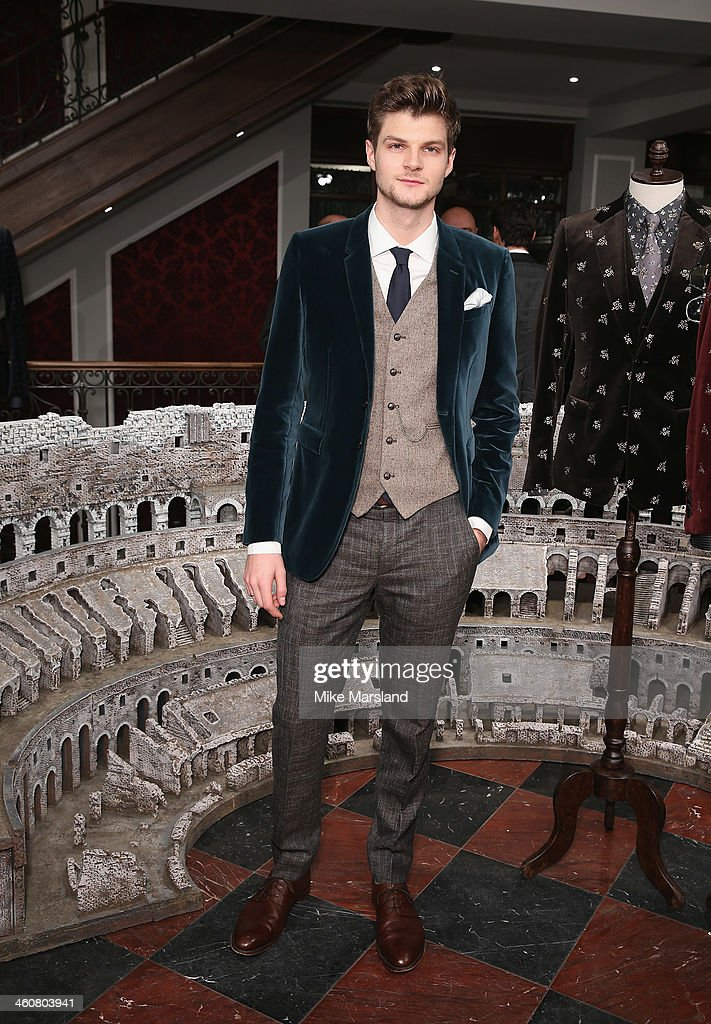 Jim Chapman attends Dolce Gabbana London Collections Men Event at Dolce Gabbana New Bond Street Store on January 5 2014 in London England