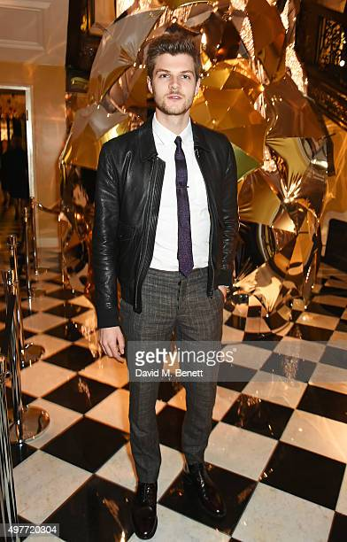 Jim Chapman attends the Claridge's Christmas Tree Party 2015 designed by Christopher Bailey for Burberry at Claridge's Hotel on November 18 2015 in...