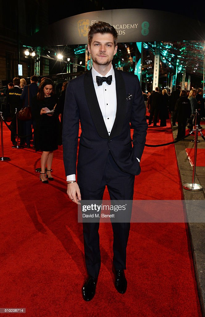 Jim Chapman attends the EE British Academy Film Awards at The Royal Opera House on February 14, 2016 in London, England.