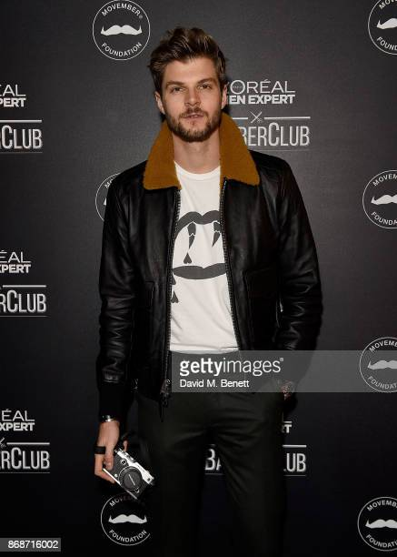 Jim Chapman attends the L'Oreal Paris Men Expert and Movember Charity Partnership event at The Bike Shed on October 31 2017 in London England