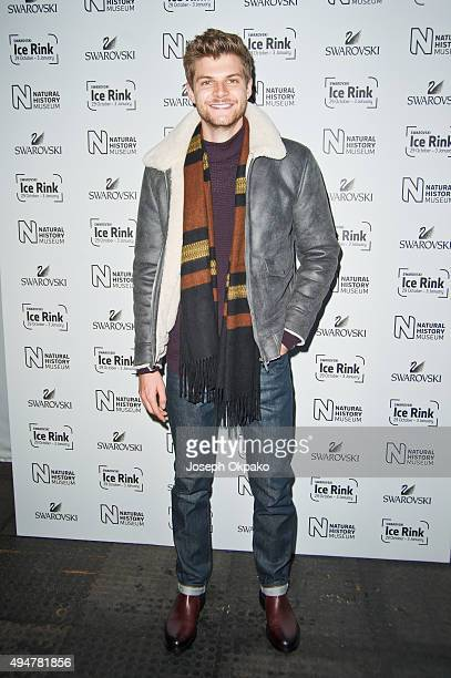 Jim Chapman attends the Natural History Museum Swarovski Ice Rink Launch at Natural History Museum on October 28 2015 in London England