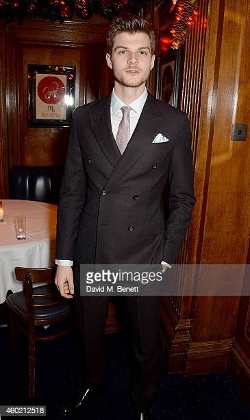 Jim Chapman attends the Sunday Times Style Xmas Party at Tramp on December 9 2014 in London England
