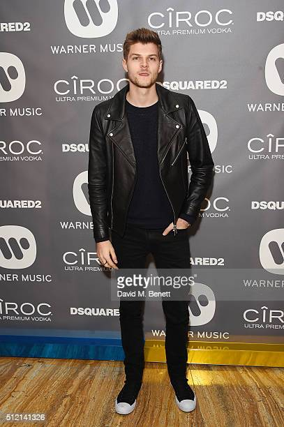 Jim Chapman attends the Warner Music Group Ciroc Vodka Brit Awards after party at Freemasons Hall on February 24 2016 in London England
