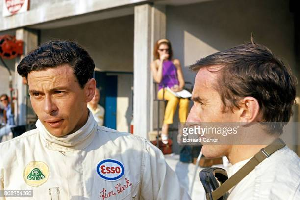 Jim Clark Jackie Stewart Grand Prix of Italy Monza 04 September 1966