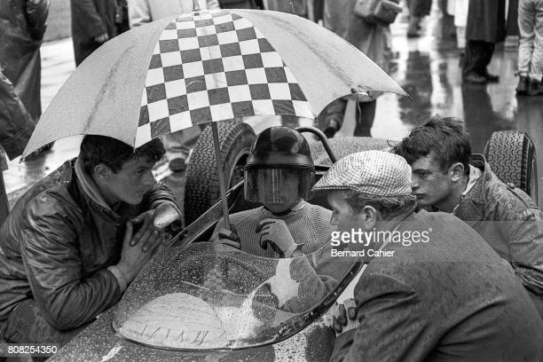 Jim Clark Lotus 21 Coventry Climax Grand Prix of Great Britain Aintree 15 July 1961