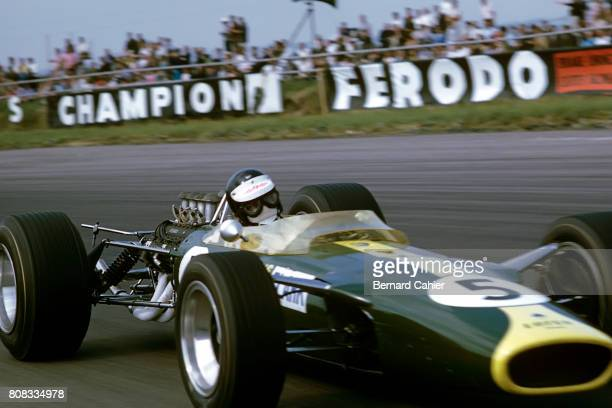 Jim Clark Lotus 49 Ford Cosworth Grand Prix of Great Britain Silverstone 15 July 1967