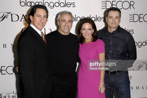 Jim Coia Mitchell Gold Margaret Russell and Bob Williams attend ELLE DECOR and BLOOMINGDALE'S Celebrate Reopening of Furniture Department With...