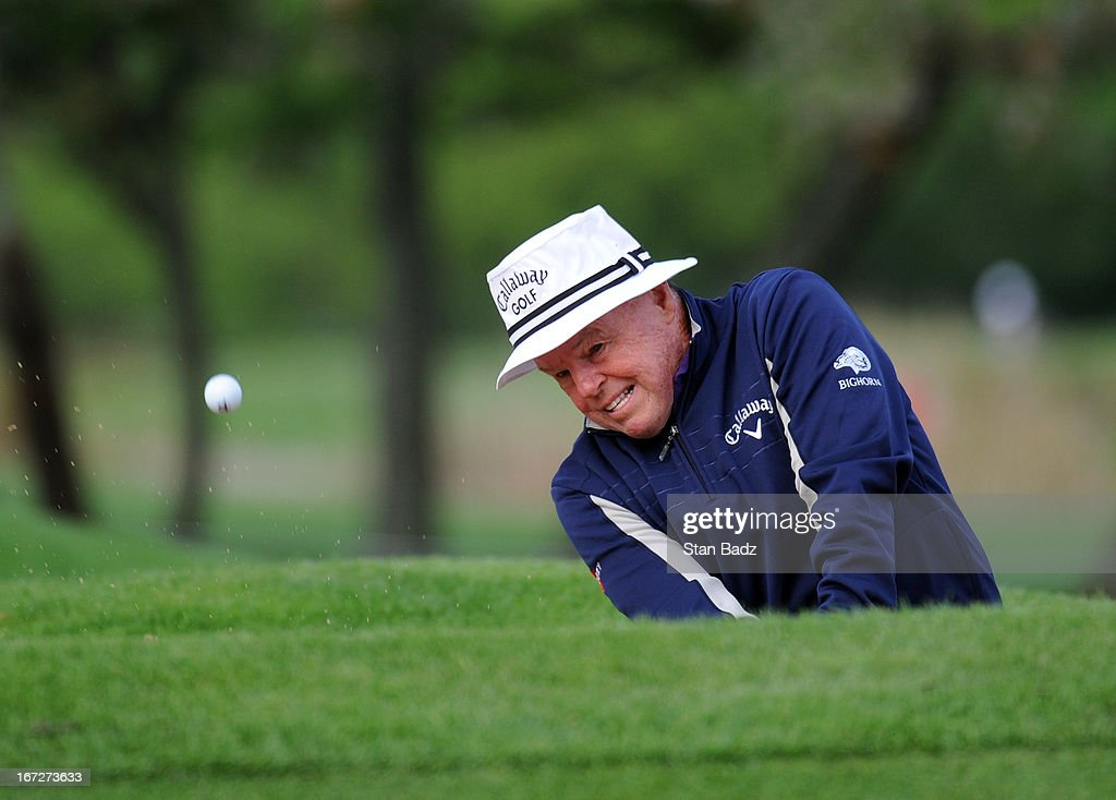 <a gi-track='captionPersonalityLinkClicked' href=/galleries/search?phrase=Jim+Colbert&family=editorial&specificpeople=2200563 ng-click='$event.stopPropagation()'>Jim Colbert</a> hits from a bunker on the first hole during the final round of the Demaret Division at the Liberty Mutual Insurance Legends of Golf at The Westin Savannah Harbor Golf Resort & Spa on April 23, 2013 in Savannah, Georgia.