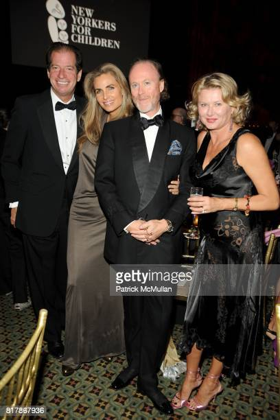 Jim Coleman Cynthia Ott Prince Pierre d'Arenberg and Lady Liliana Cavendish attend NEW YORKERS FOR CHILDREN 2010 Fall Gala at Cipriani 42nd on...