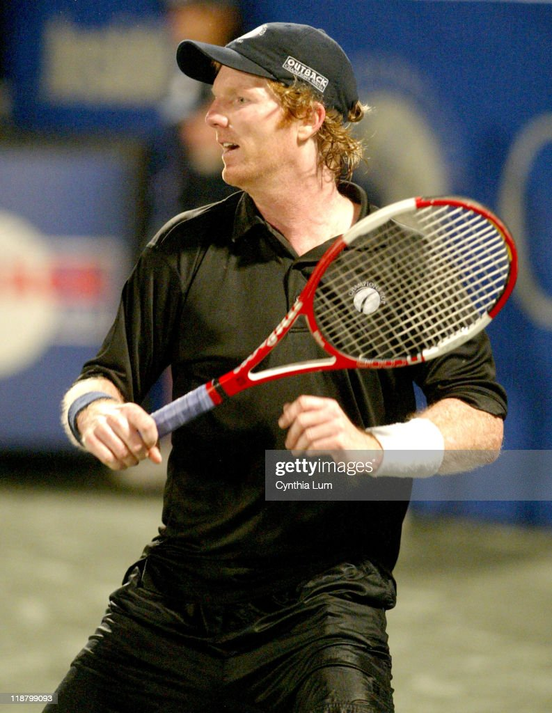 Champions Tour Champions Cup Final Pat Cash vs Jim Courier