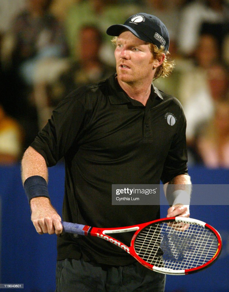 Champions Cup Mikael Pernfors vs Jim Courier March 10 2006