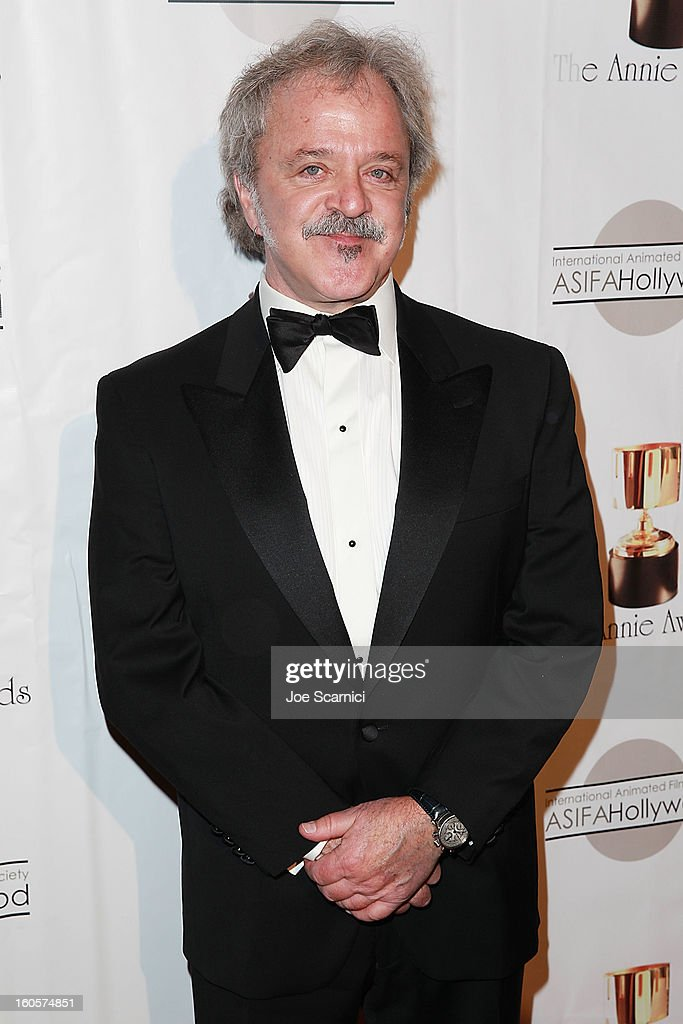 Jim Cummings arrives at the 40th Annual Annie Awards at Royce Hall on the UCLA Campus on February 2, 2013 in Westwood, California.