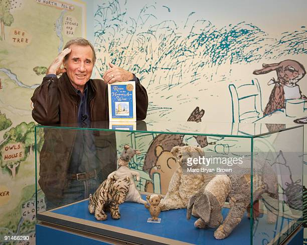 Jim Dale attends a 'Return To The Hundred Acre Wood' reading and Penguin Young Readers Group mural presentation at the New York Public Library...