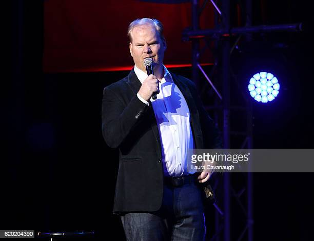 Jim Gaffigan attends 10th Annual Stand Up For Heroes Show at The Theater at Madison Square Garden on November 1 2016 in New York City