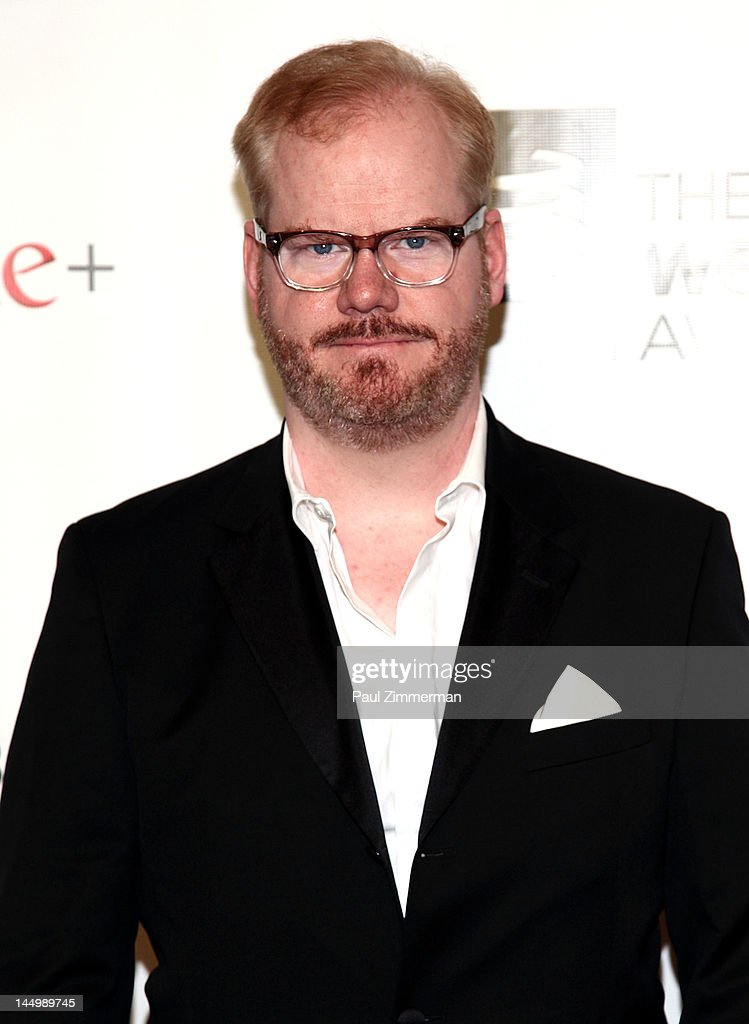 <a gi-track='captionPersonalityLinkClicked' href=/galleries/search?phrase=Jim+Gaffigan&family=editorial&specificpeople=2083899 ng-click='$event.stopPropagation()'>Jim Gaffigan</a> attends the 16th Annual Webby Awards at Hammerstein Ballroom on May 21, 2012 in New York City.