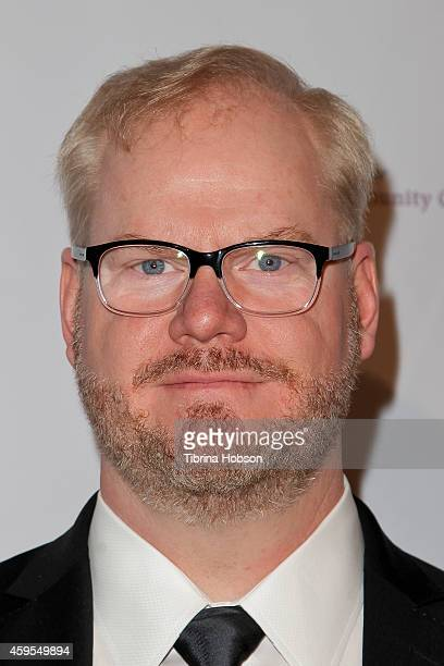Jim Gaffigan attends the Saban Clinic's 38th annual gala at The Beverly Hilton Hotel on November 24 2014 in Beverly Hills California