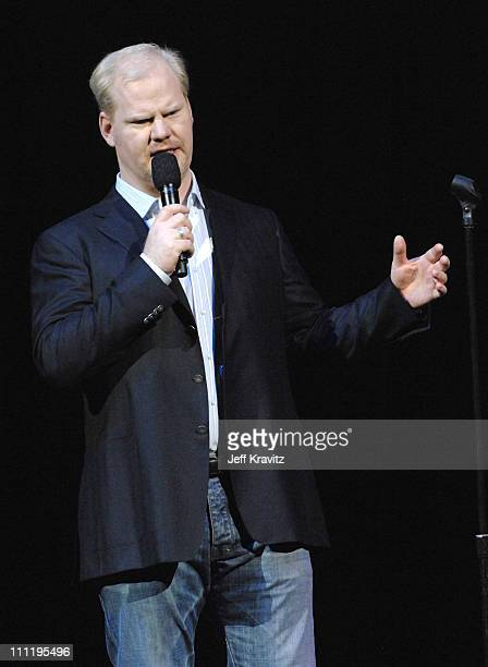 Jim Gaffigan during HBO AEG Live's 'The Comedy Festival' Triumph the Insult Comic Dog's Poopapalooza II at Caesars Palace in Las Vegas Nevada United...