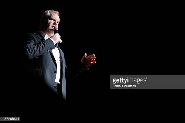 Jim Gaffigan performs the 7th annual 'Stand Up For Heroes' event at Madison Square Garden on November 6 2013 in New York City