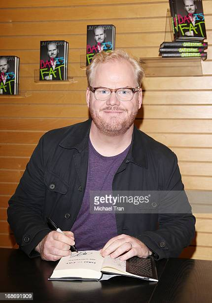 Jim Gaffigan signs copies of his new book 'Dad Is Fat' held at Barnes Noble 3rd Street Promenade on May 13 2013 in Santa Monica California