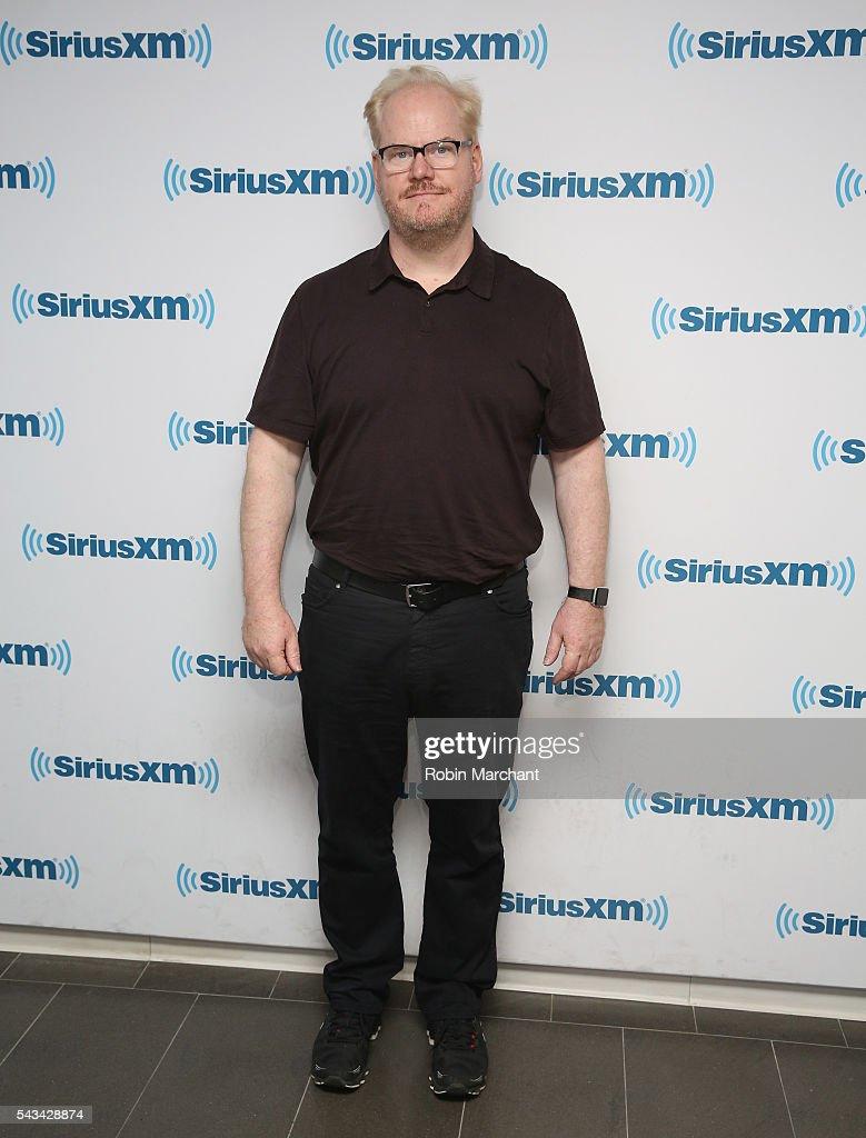Jim Gaffigan visit SiriusXM Townhall at SiriusXM Studio on June 28, 2016 in New York City.