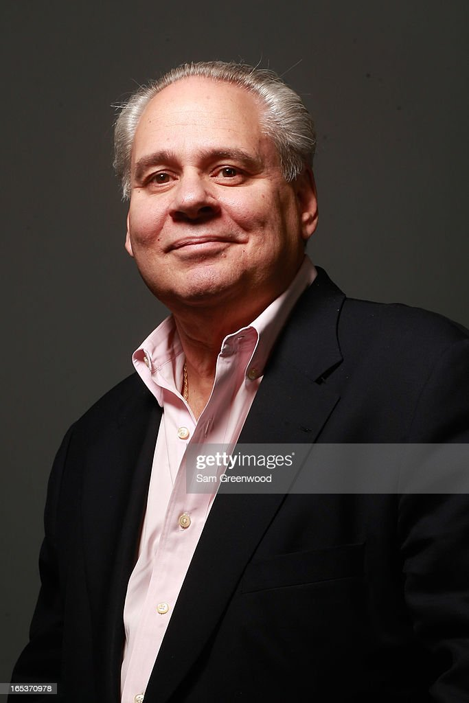 Jim Gallagher, SVP Global PR at IMG poses at the World Congress Of Sports Executive Portrait Studio on April 3, 2013 in Naples, Florida.