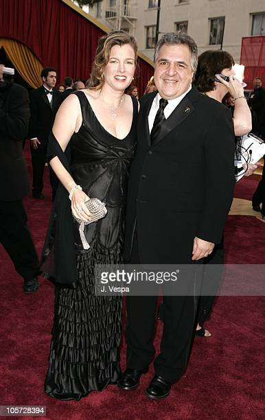Jim Gianopulos of FOX and wife Ann during The 77th Annual Academy Awards Executive Arrivals at Kodak Theatre in Hollywood California United States