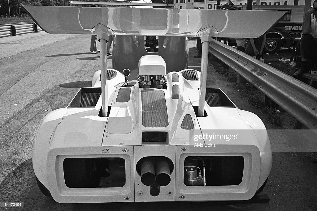 Jim Hall's Chaparral 2G at the Road America CanAm on September 1 1968 in Elkhart Lake Wisconsin