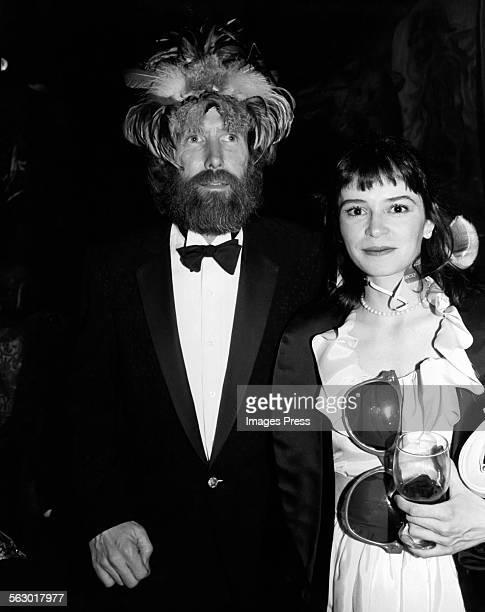 Jim Henson and Juliana Donald circa 1983 in New York City