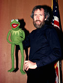 Jim Henson Kermit the Frog perform on the TV show 'Solid Gold' KTLA Studios Los Angeles California