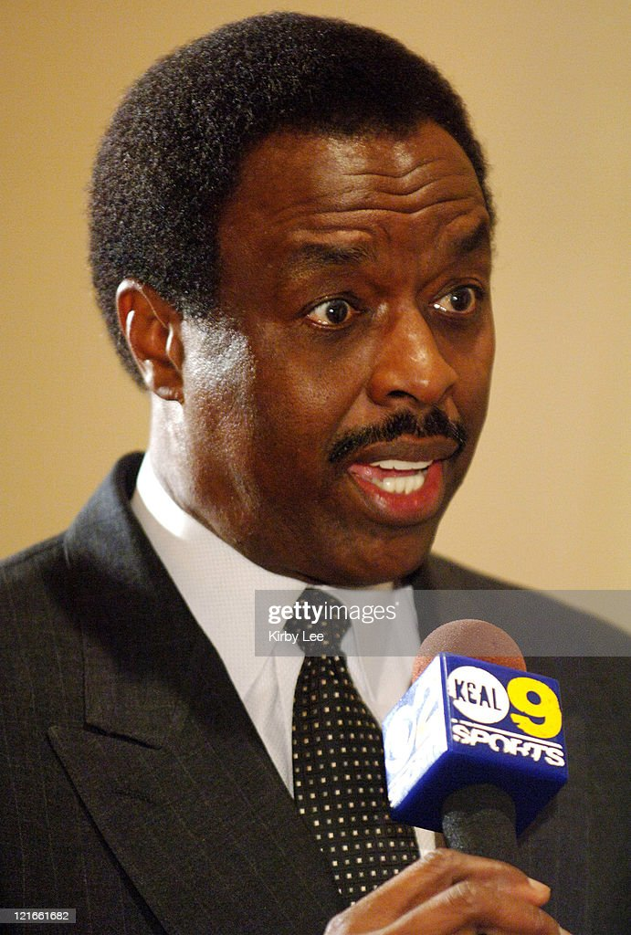 Jim Hill speaks at the Pacific10 Conference Basketball Media Day at the Hilton Los Angeles Airport in Los Angeles Calif on Wednesday Nov 3 2005