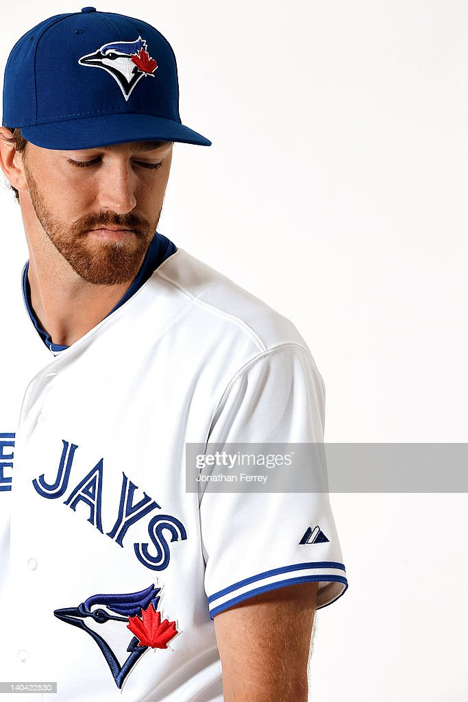 Jim Hoey #59 of the Toronto Blue Jays poses for a portrait at Dunedin Stadium on March 2, 2012 in Dunedin, Florida.
