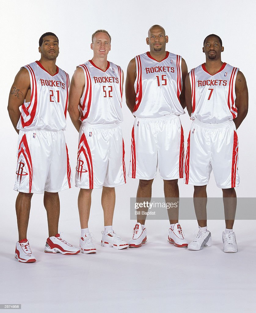 The Rockets pose for a Media Day