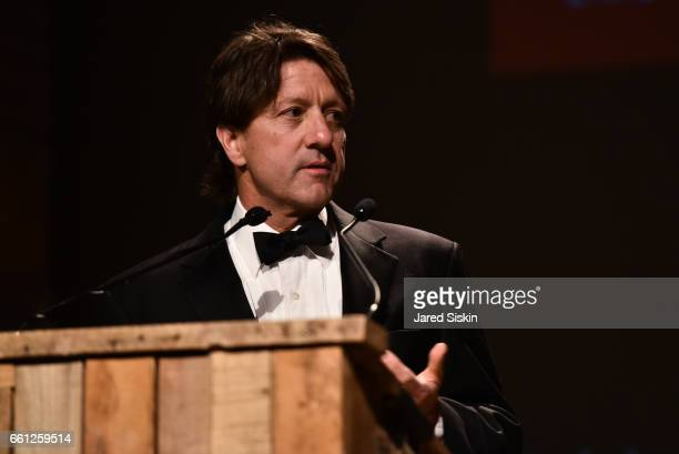 Jim Jackson speaks at the First Annual Medair Gala at Stephan Weiss Studio on March 30 2017 in New York City