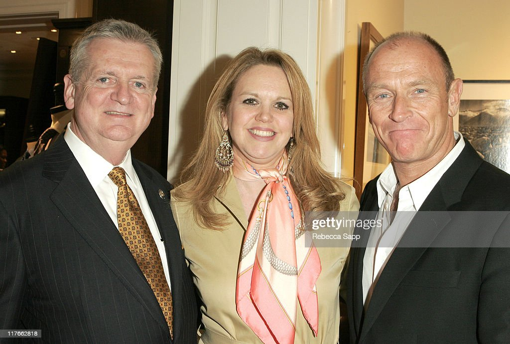 Jim Jahant ,Beverly Hills Brooks Brothers manager, Geri Corrigan, director of public relations for Brooks Brothers and <a gi-track='captionPersonalityLinkClicked' href=/galleries/search?phrase=Corbin+Bernsen&family=editorial&specificpeople=211428 ng-click='$event.stopPropagation()'>Corbin Bernsen</a>