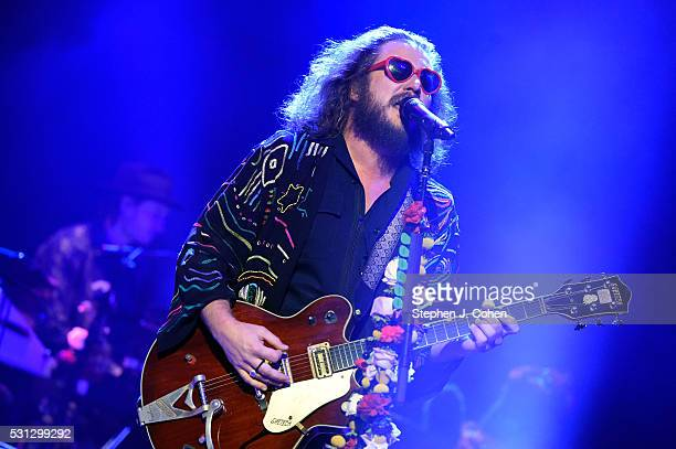 Jim James of My Morning Jacket performs at Iroquois Amphitheater on May 13 2016 in Louisville Kentucky