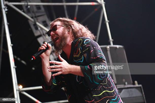 Jim James of My Morning Jacket performs on day 1 of the Electric Picnic Festival at Stradbally Hall Estate on September 4 2015 in Stradbally Ireland