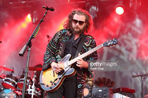 Jim James of My Morning Jacket performs on day 2 of End of the Road Festival at Larmer Tree Gardens on September 5 2015 in Farnham Dorset