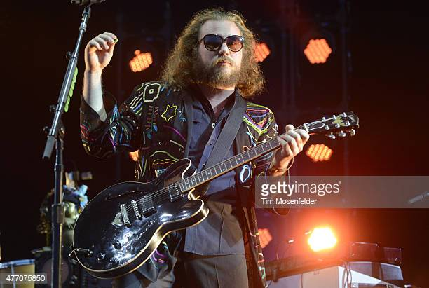 JIm James of My Morning Jacket performs on June 13 2015 in Manchester Tennessee