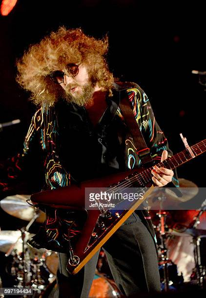 Jim James of My Morning Jacket performs onstage during 2016 Lockin' Festival Day 3 at The Oak Ridge Farm on August 27 2016 in Arrington Virginia