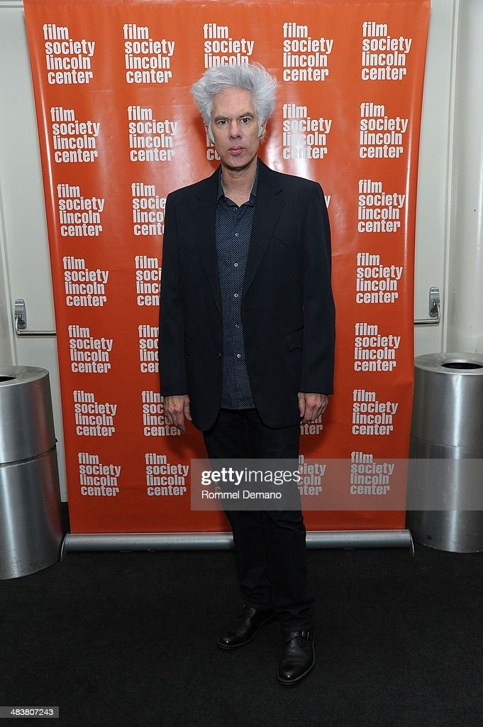 Jim Jarmusch attends 'Permanent Vacation: The Films of Jim Jarmusch' at Lincoln Center Plaza on April 9, 2014 in New York City.
