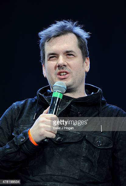REQUIRED Jim Jeffries performs at British Summer Time 2015 at Hyde Park on June 23 2015 in London England