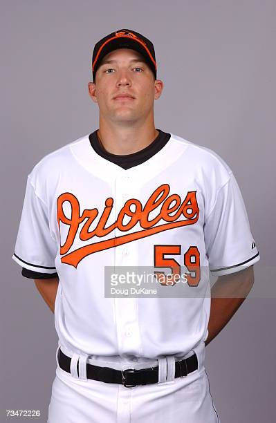 Jim Johnson of the Baltimore Orioles poses during photo day at Ft Lauderdale Stadium on February 26 2007 in Ft Lauderdale Florida