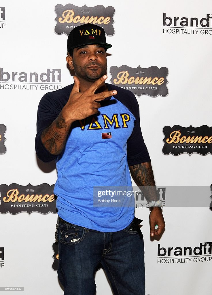 Jim JonesL attends the 1 year anniversary party at Bounce Sporting Club on September 19, 2012 in New York City.