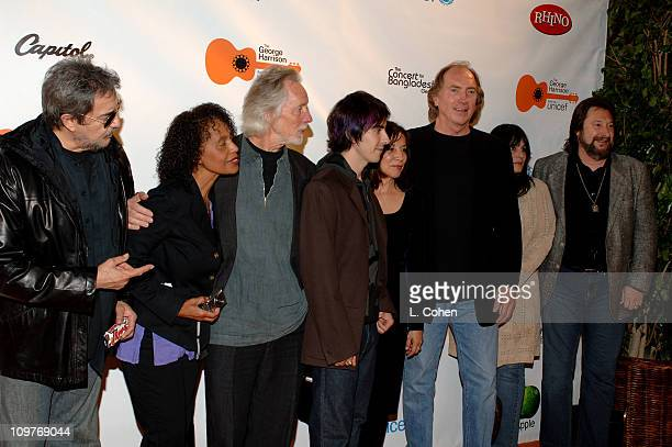 Jim Keltner Claudia Linnear Klaus Voormann Dhani Harrison Olivia Harrison Chuck Findley and other musicians from George Harrison's 1971 Concert for...