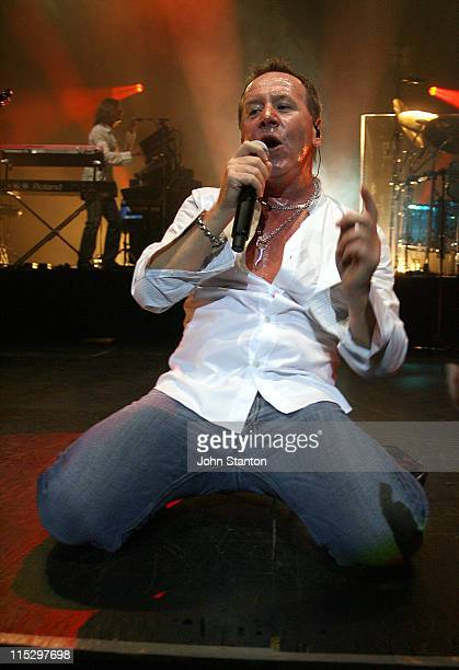 Jim Kerr of Simple Minds during Simple Minds in Concert at the State Theatre in Sydney May 7 2006 at State Theatre in Sydney NSW Australia