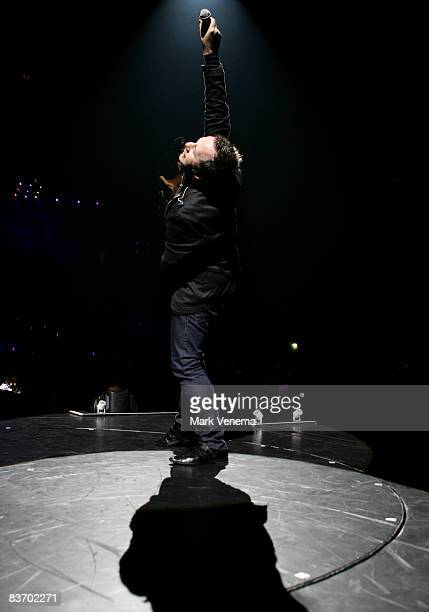 Jim Kerr of Simple Minds performs live at 'Night Of The Proms' at Gelredome on November 14 2008 in Arnhem Netherlands