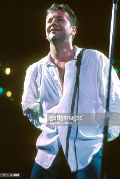 Jim Kerr of Simple Minds performs on stage London circa 1994