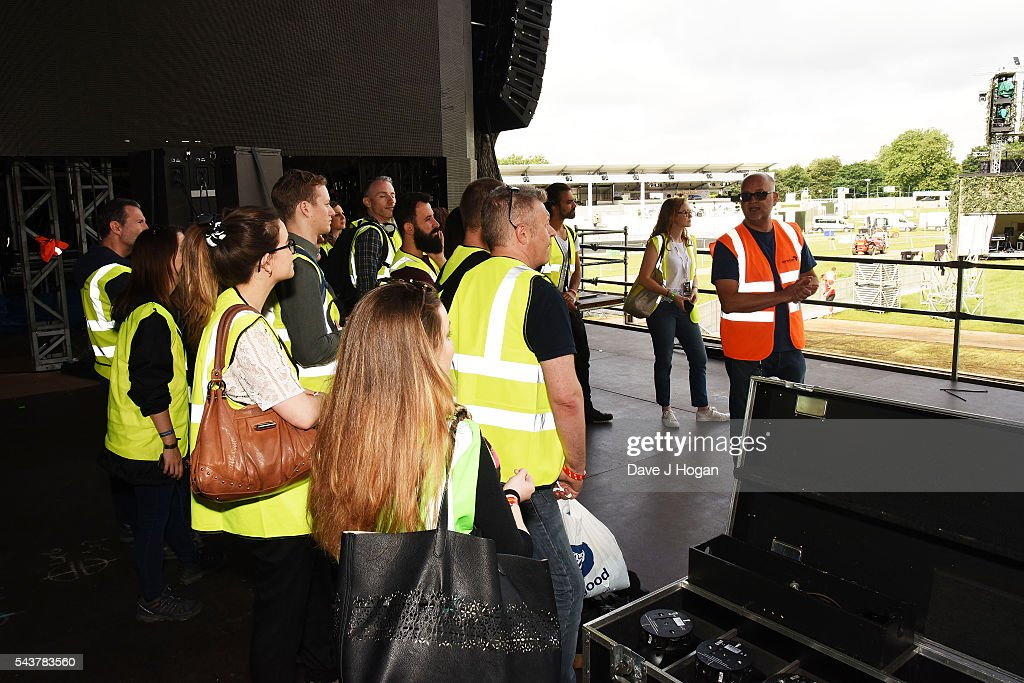 Jim King, Events Director of British Summer Time attends Barclaycard presents British Summer Time 2016 Media Day at Hyde Park on June 30, 2016 in London, England.
